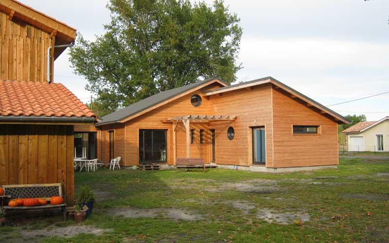 Maison bois aquitaine excellent visitez le site du for Maison bois aquitaine