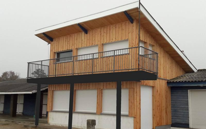 Bardage isolation thermique vers l 39 exterieur ite for Isolation maison exterieur bardage bois